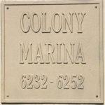Colony Marinaの看板