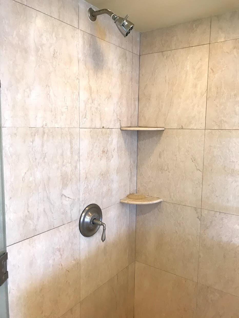ColonySurfのシャワー