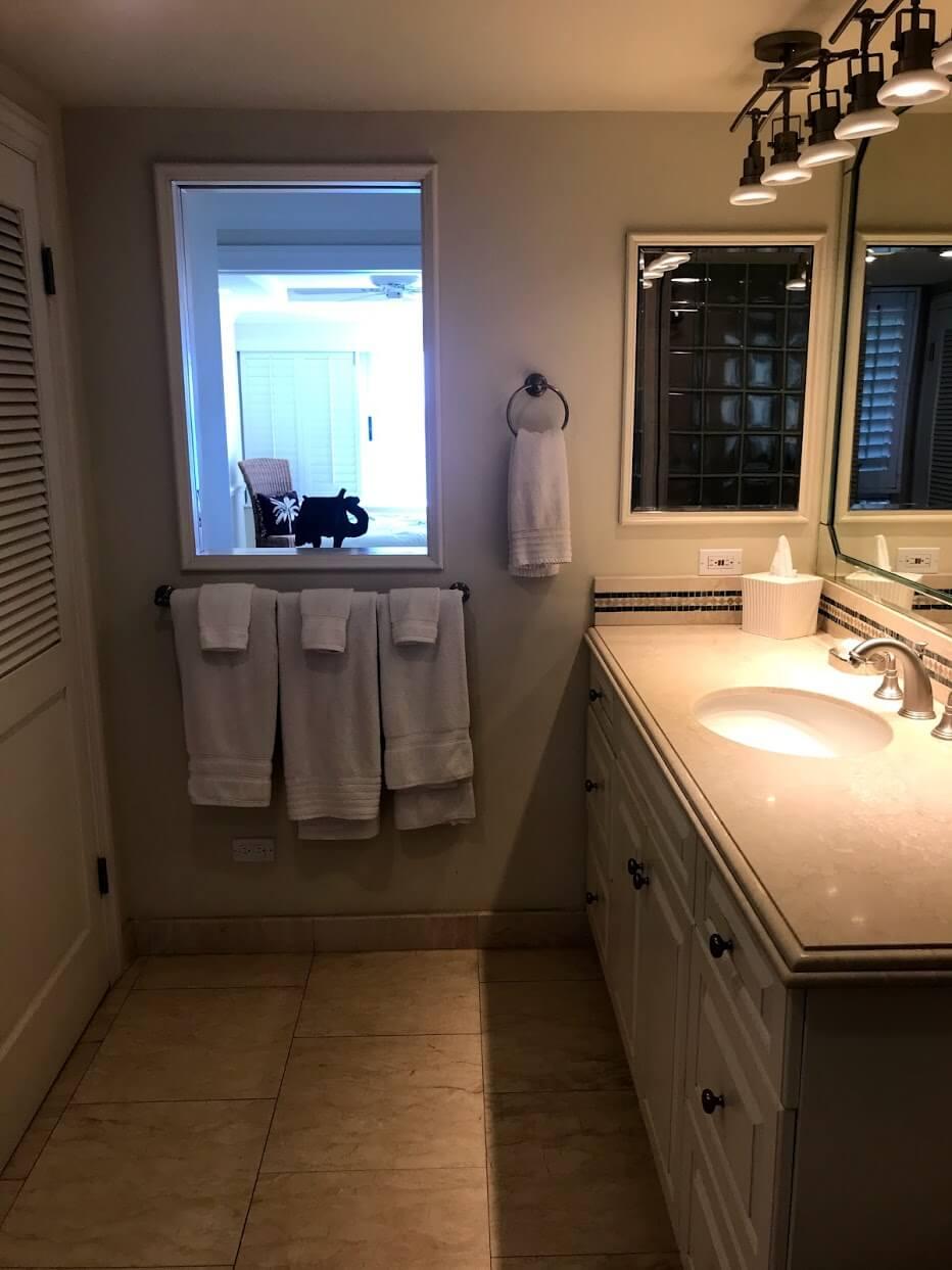 ColonySurfの洗面台
