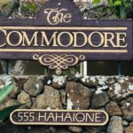 Commodoreの看板