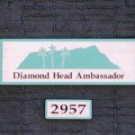 Diamond Head Ambassador 2957の看板