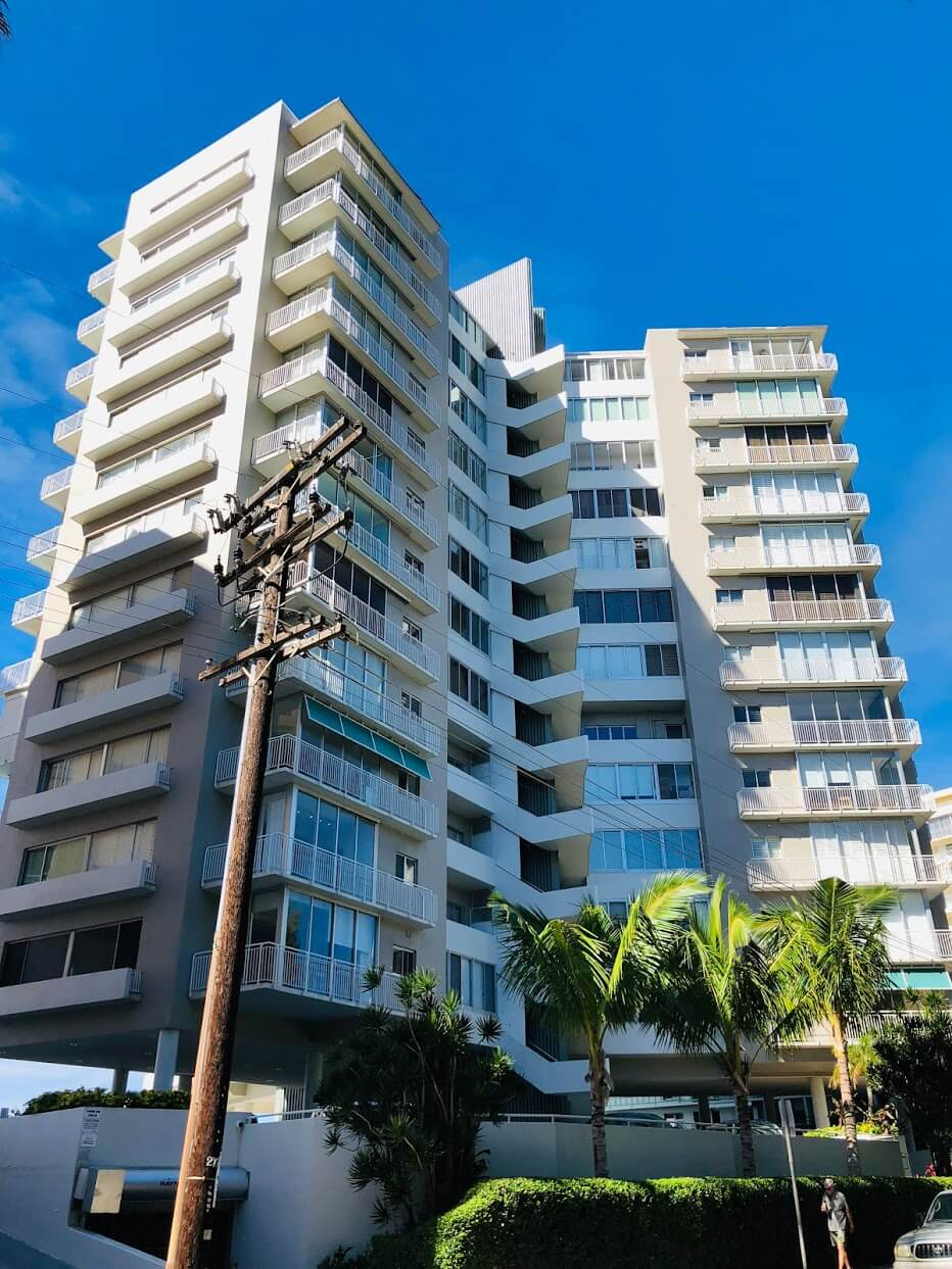 Diamond Head Apartmentの外観