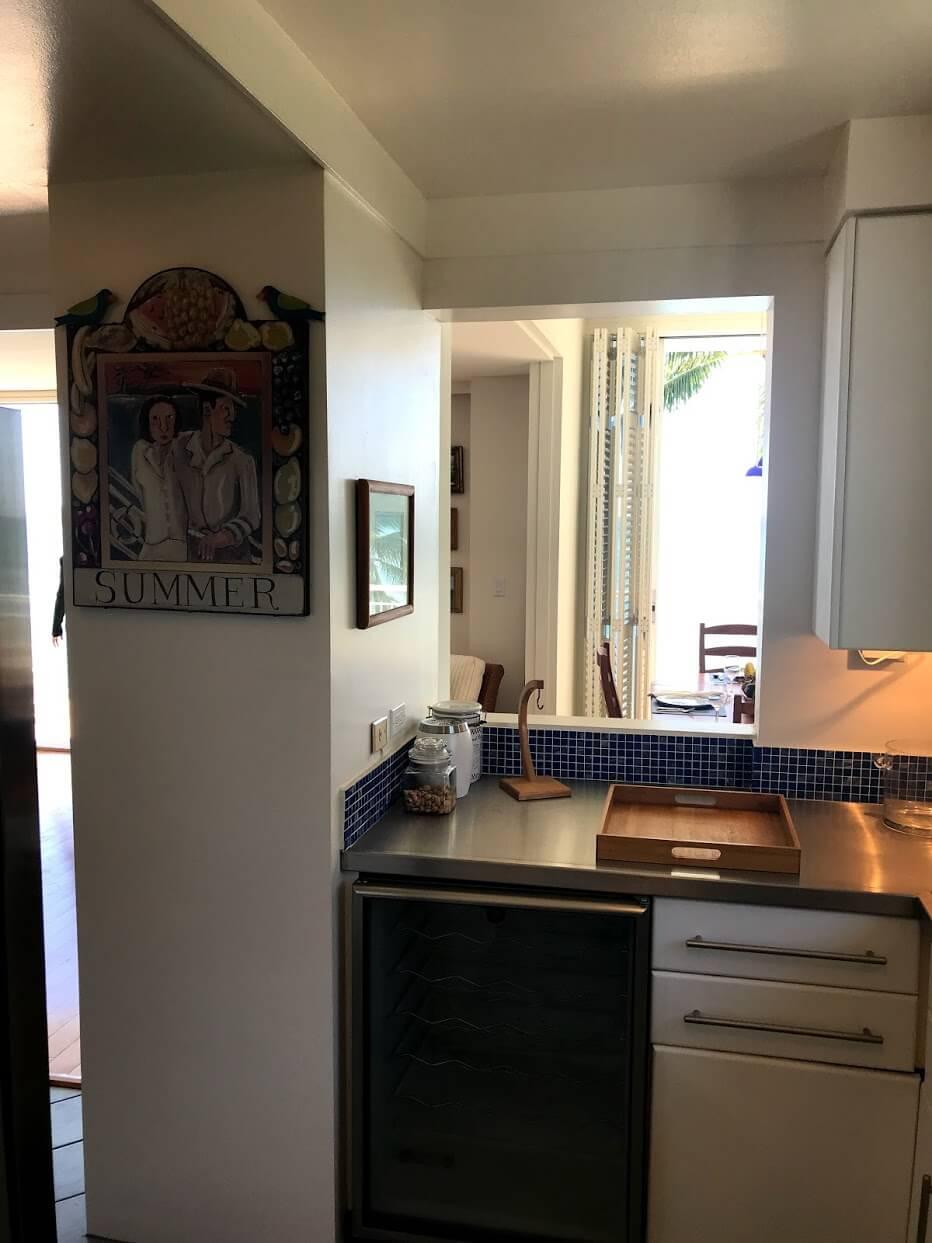 Diamond Head Apartmentsのキッチン