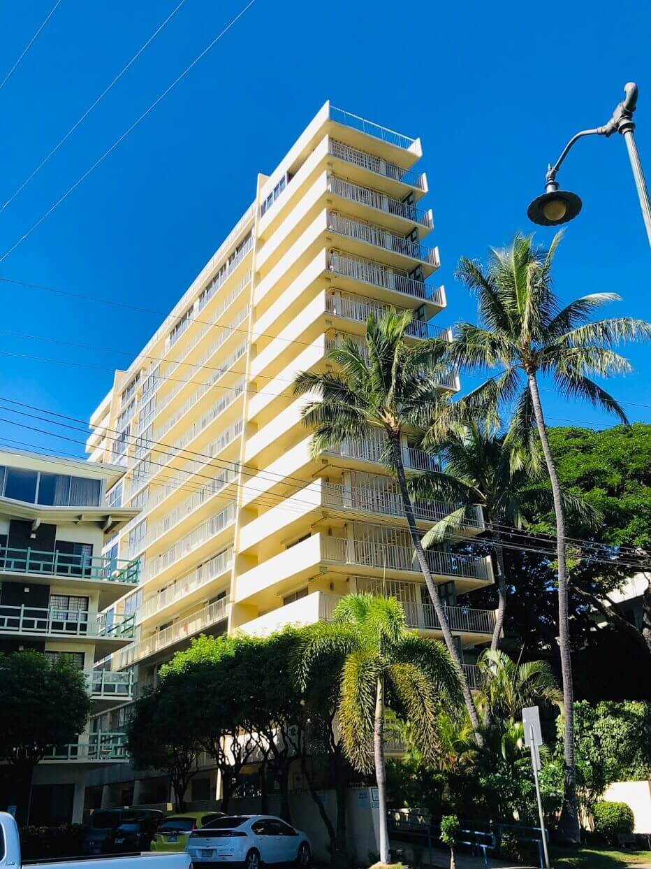 Diamond Head Beach Hotelの外観