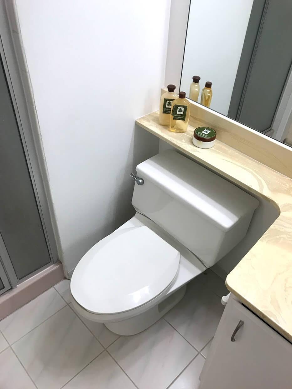 Diamond Head Vistaのトイレ