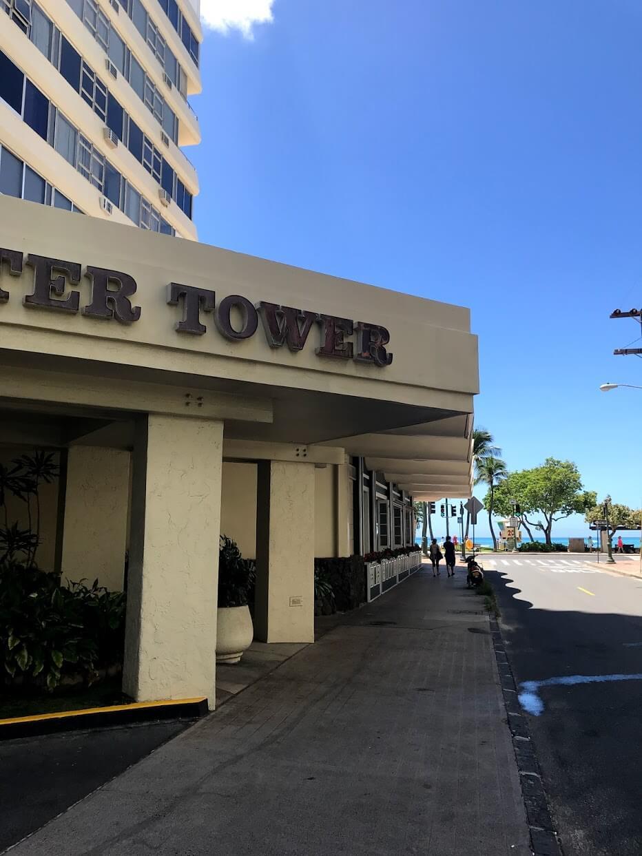 FosterTowerの看板