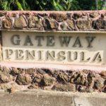 Gateway Peninsulaの看板