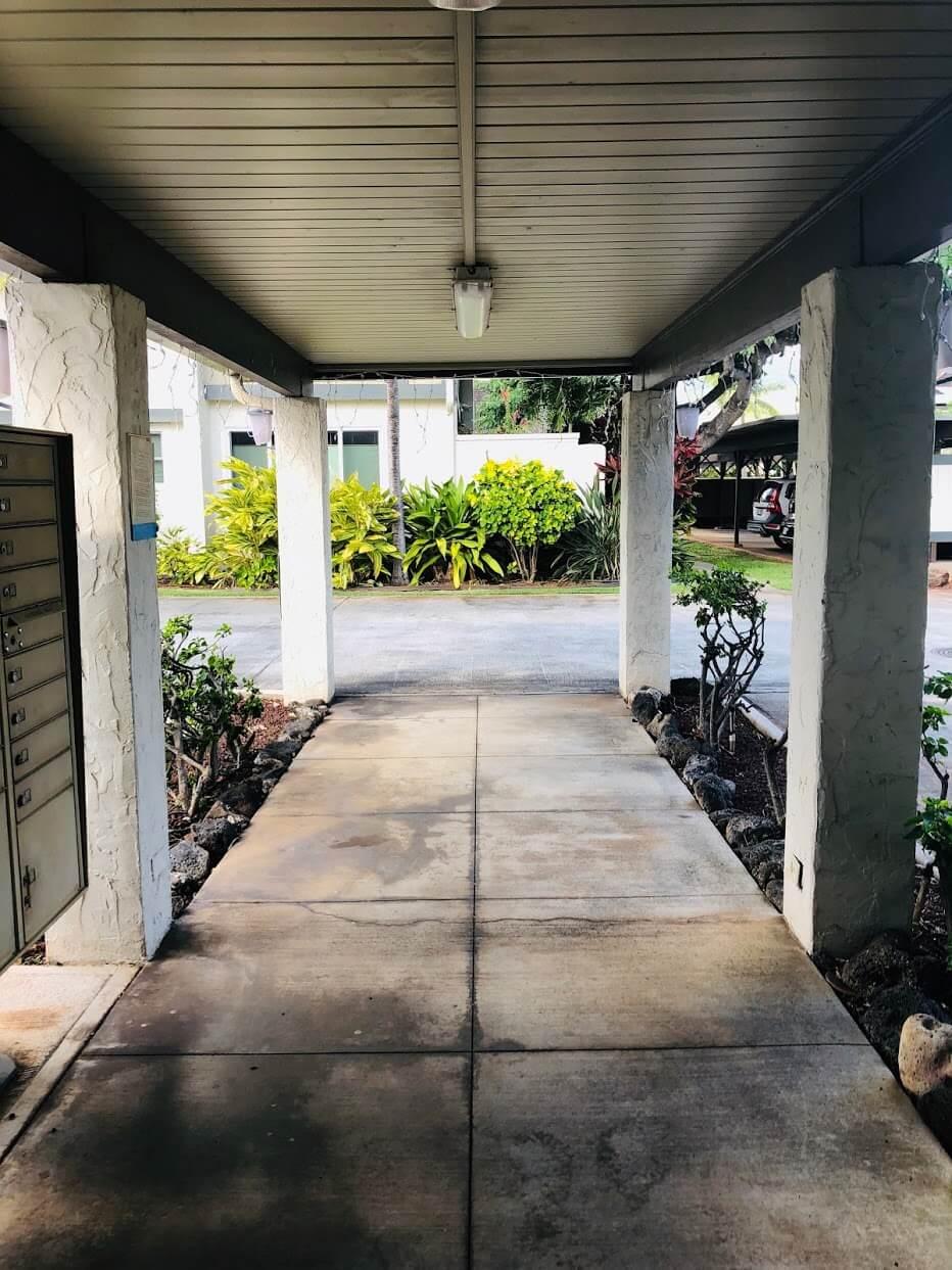 Gateway Peninsulaの廊下