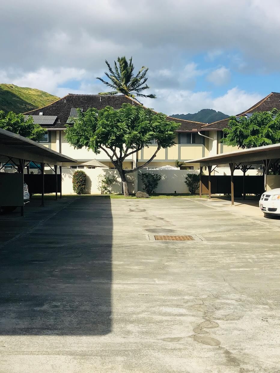 Gateway Peninsulaの駐車場
