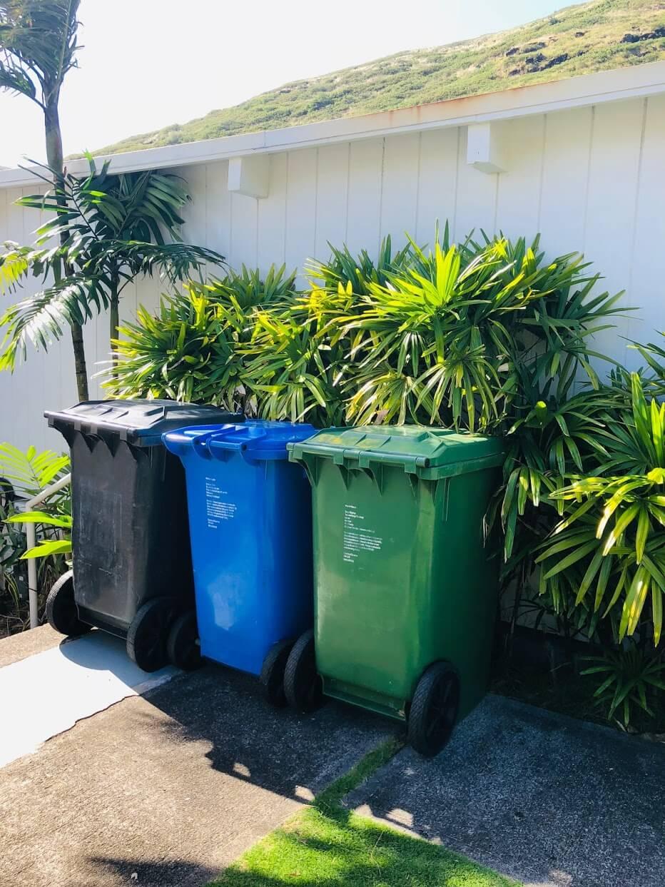 Hale Makani Kaiのゴミ箱