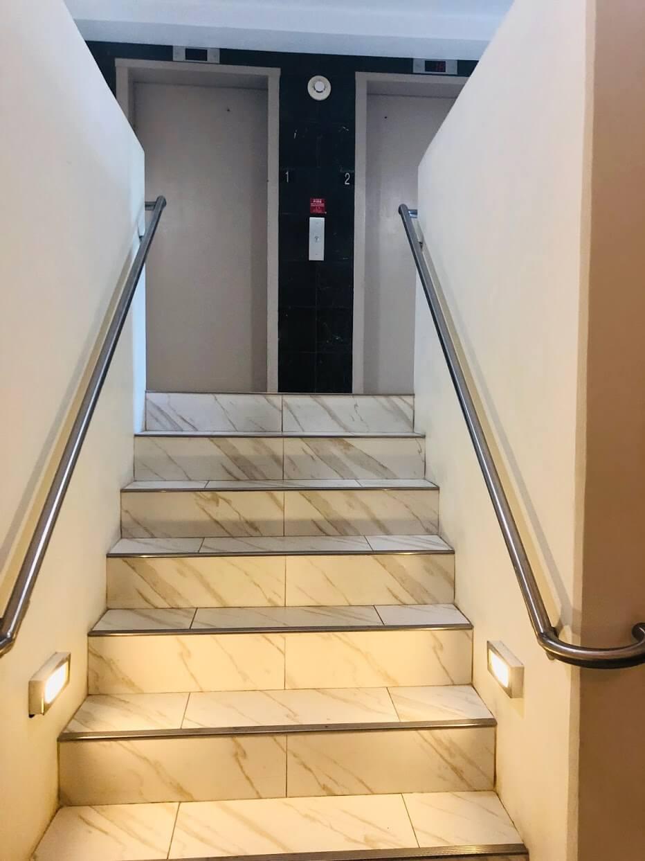 Heritage Houseの階段