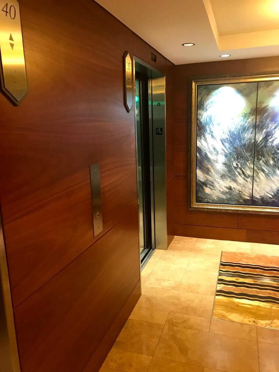Hokuaのエレベーター