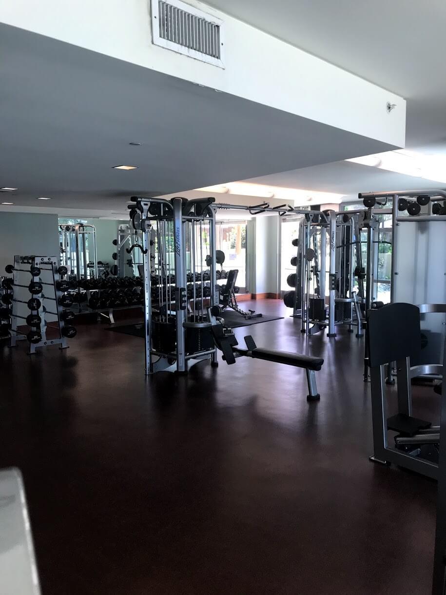 Hokuaのトレーニングルーム
