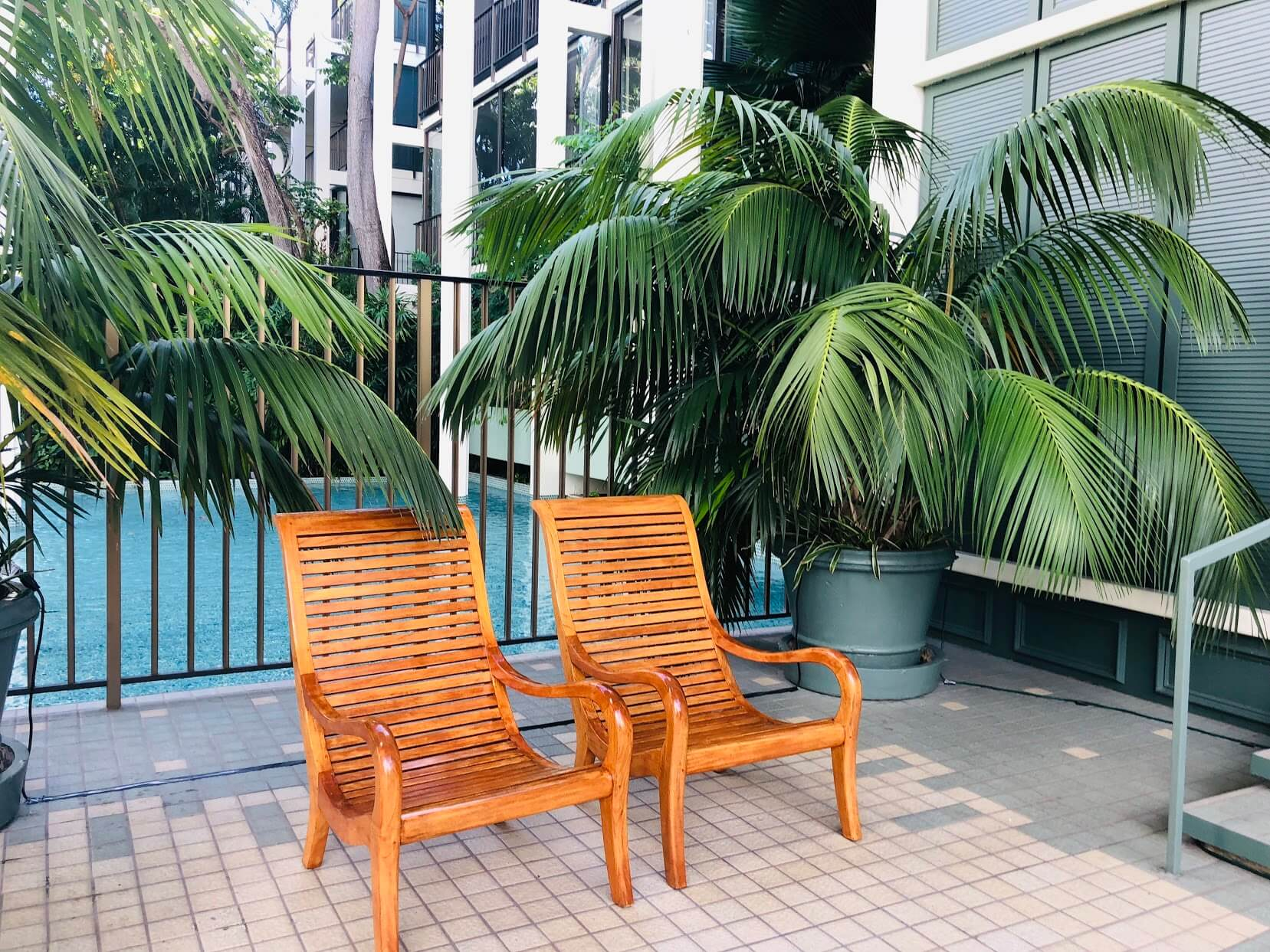 Kahala Beachの椅子