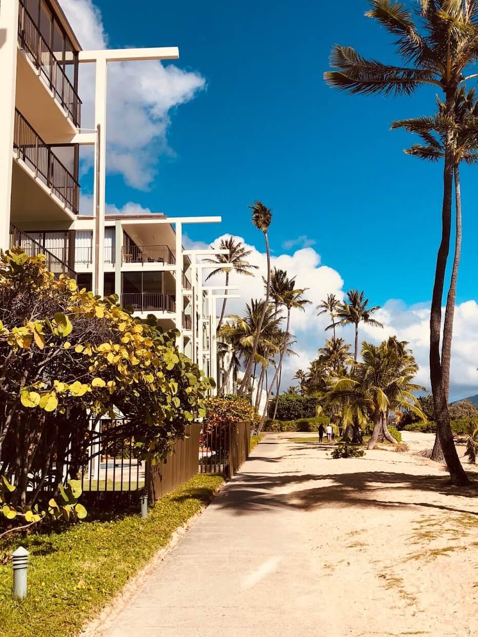 Kahala Beachの外観