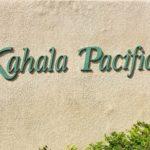 Kahala Pacificaの看板
