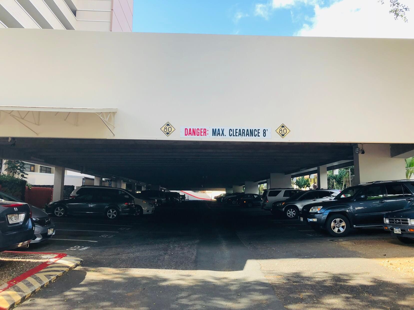 Kahala Tower 4300の駐車場