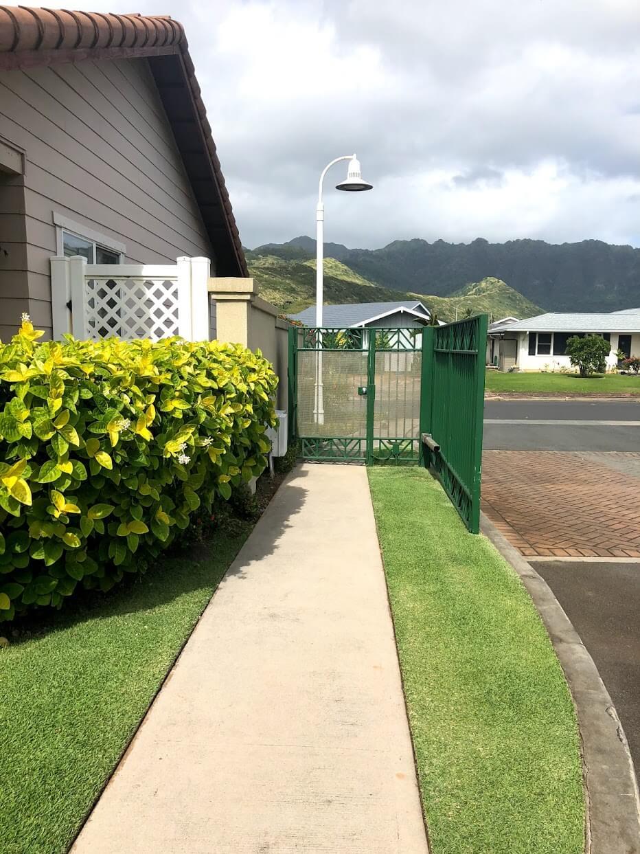 Kai Nui Courtのエントランス