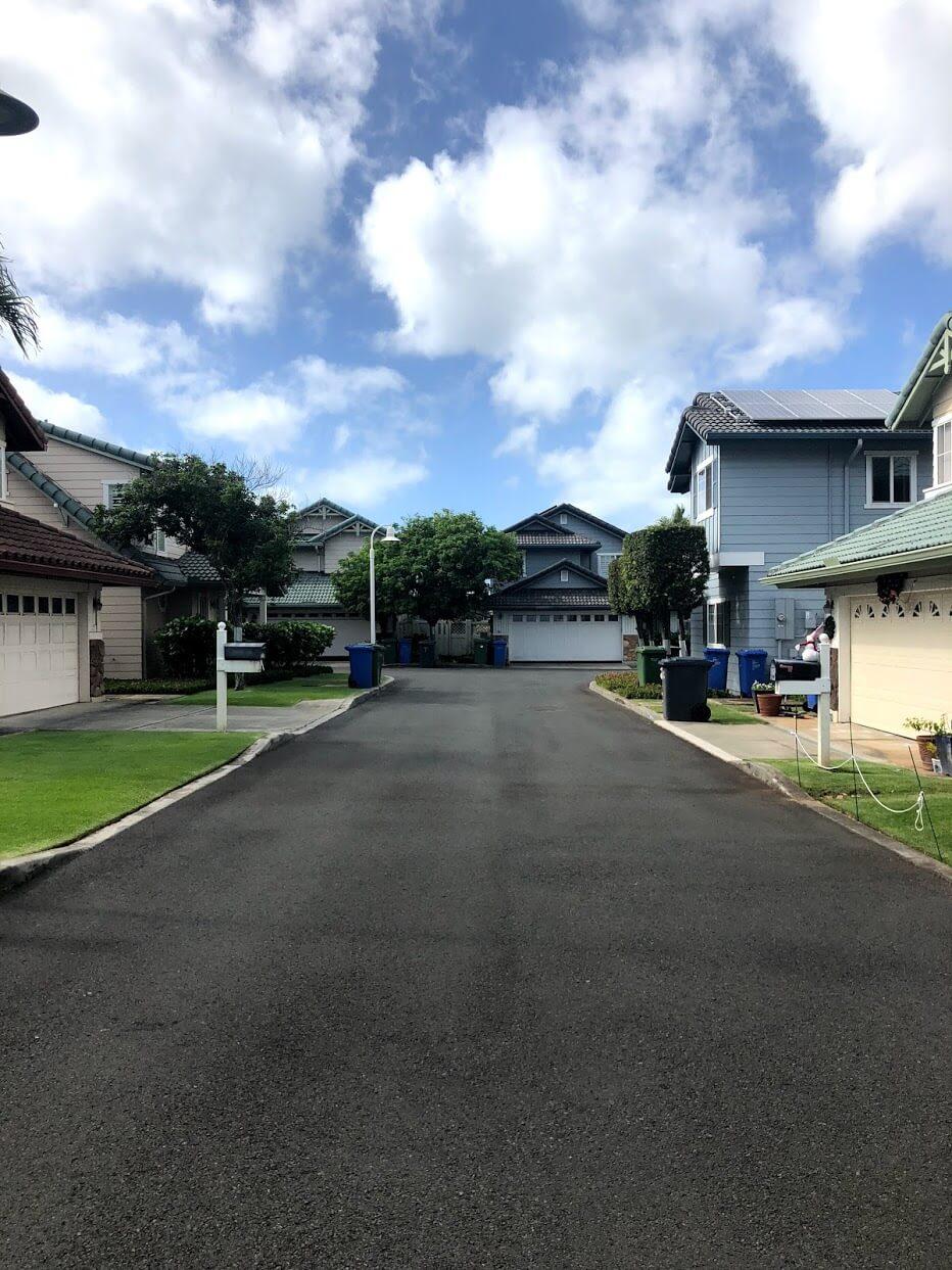 Kai Nui Courtの道路