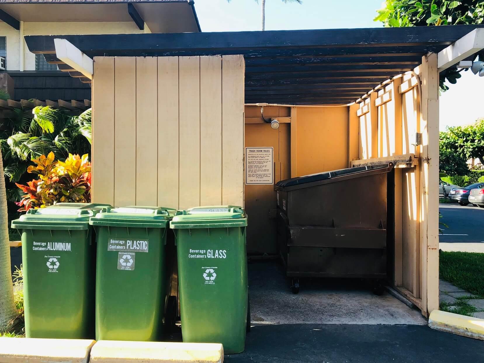 Kaimala Marinaのゴミ箱