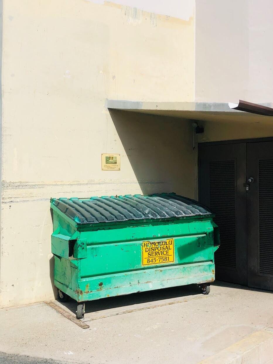 Kaimuki Jadeのゴミ箱