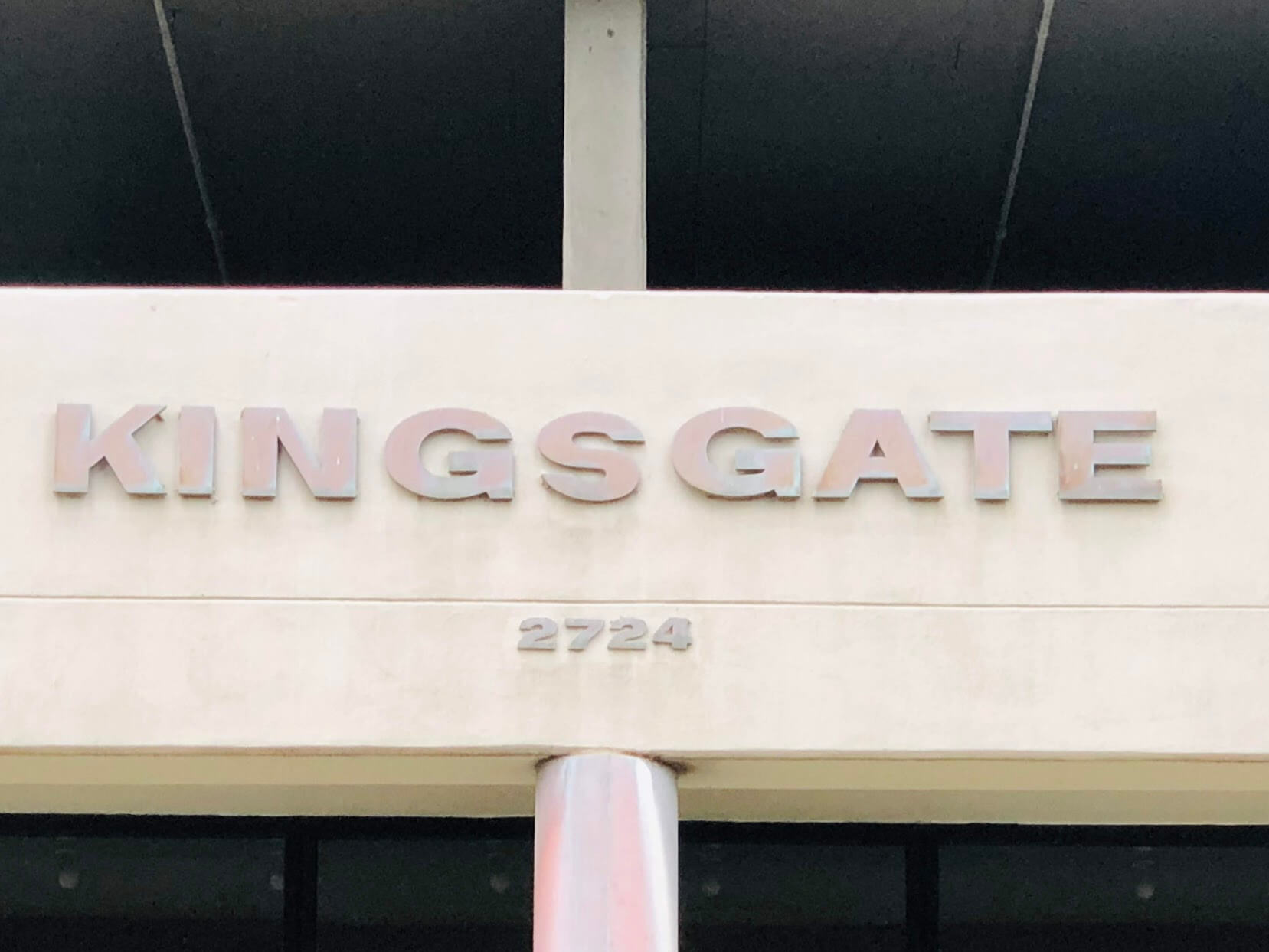 Kings Gateの看板
