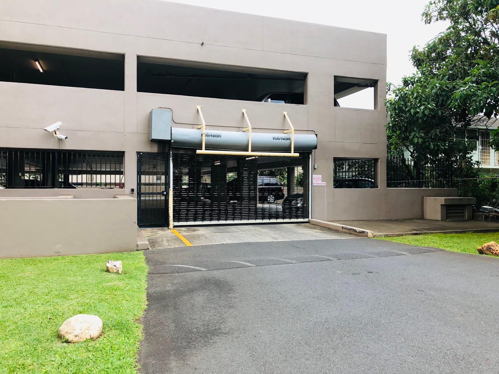 Kings Gateの駐車場