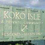 Koko Isleの看板