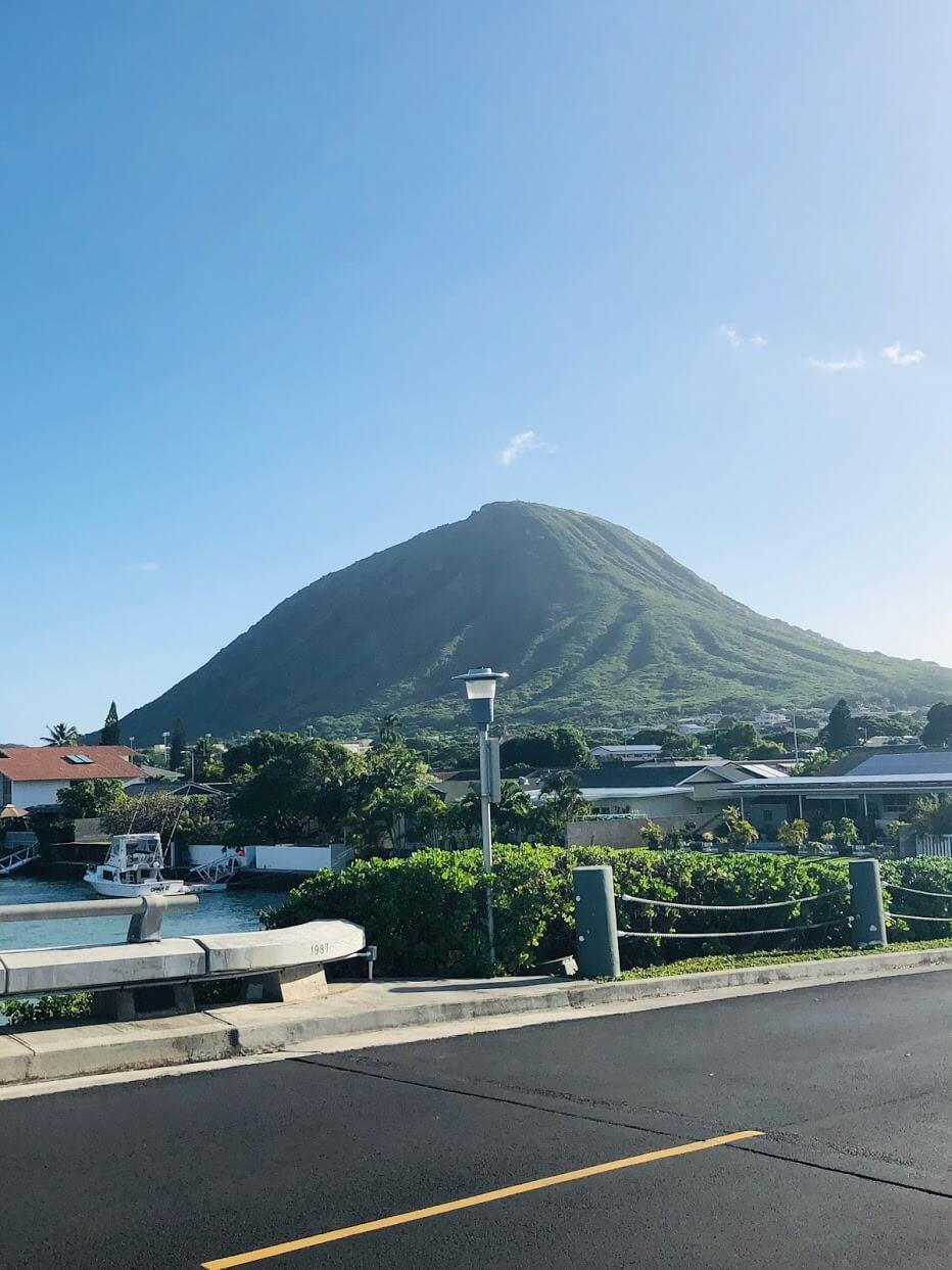 Koko Isleの山