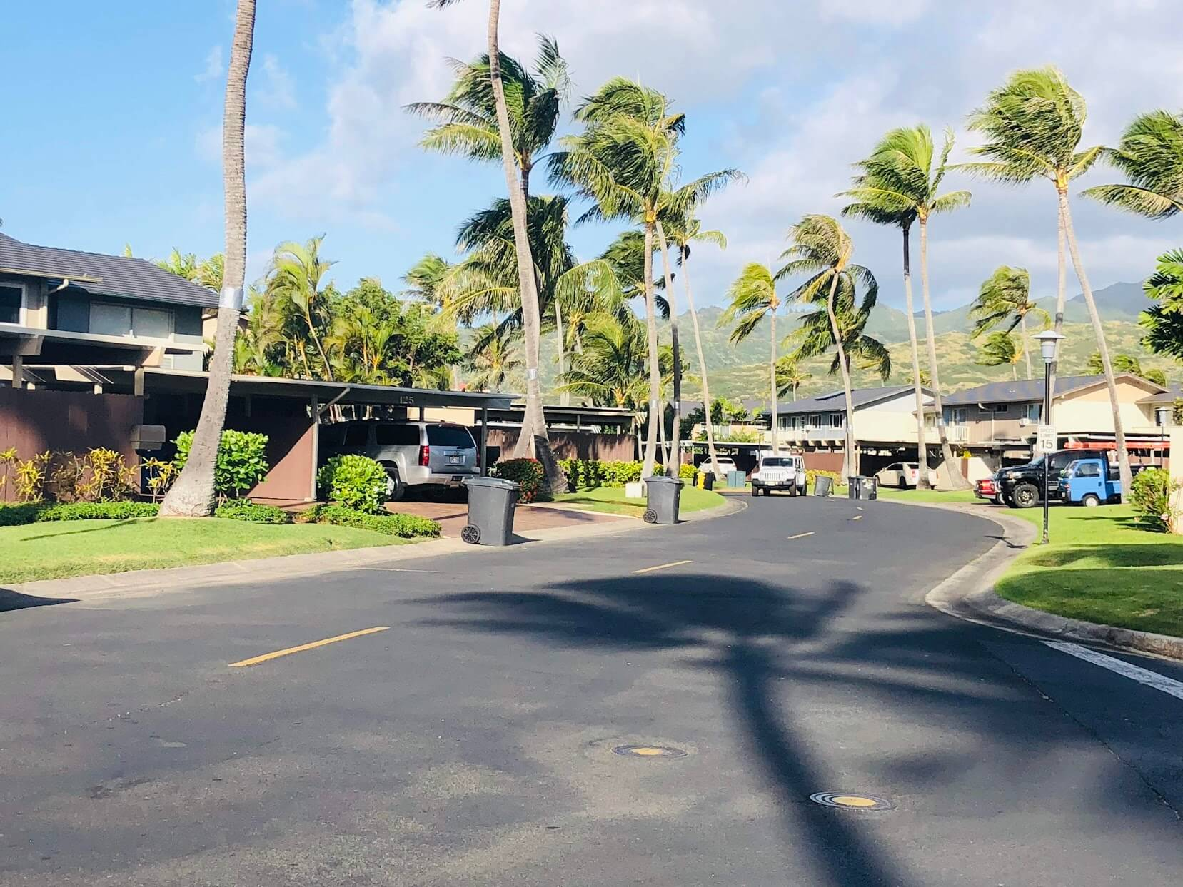 Koko Isleの道路