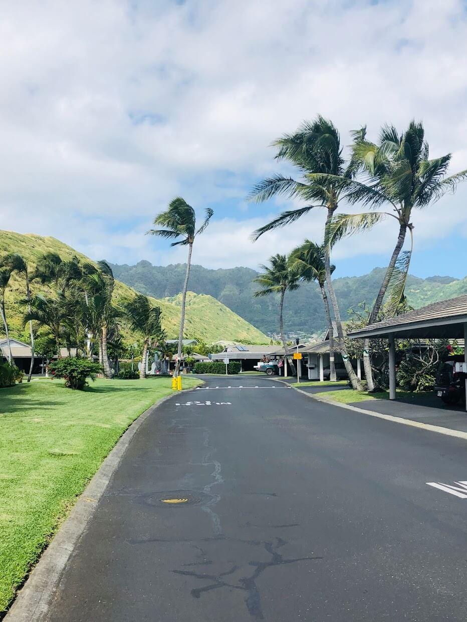 Kuapa Isleの道路