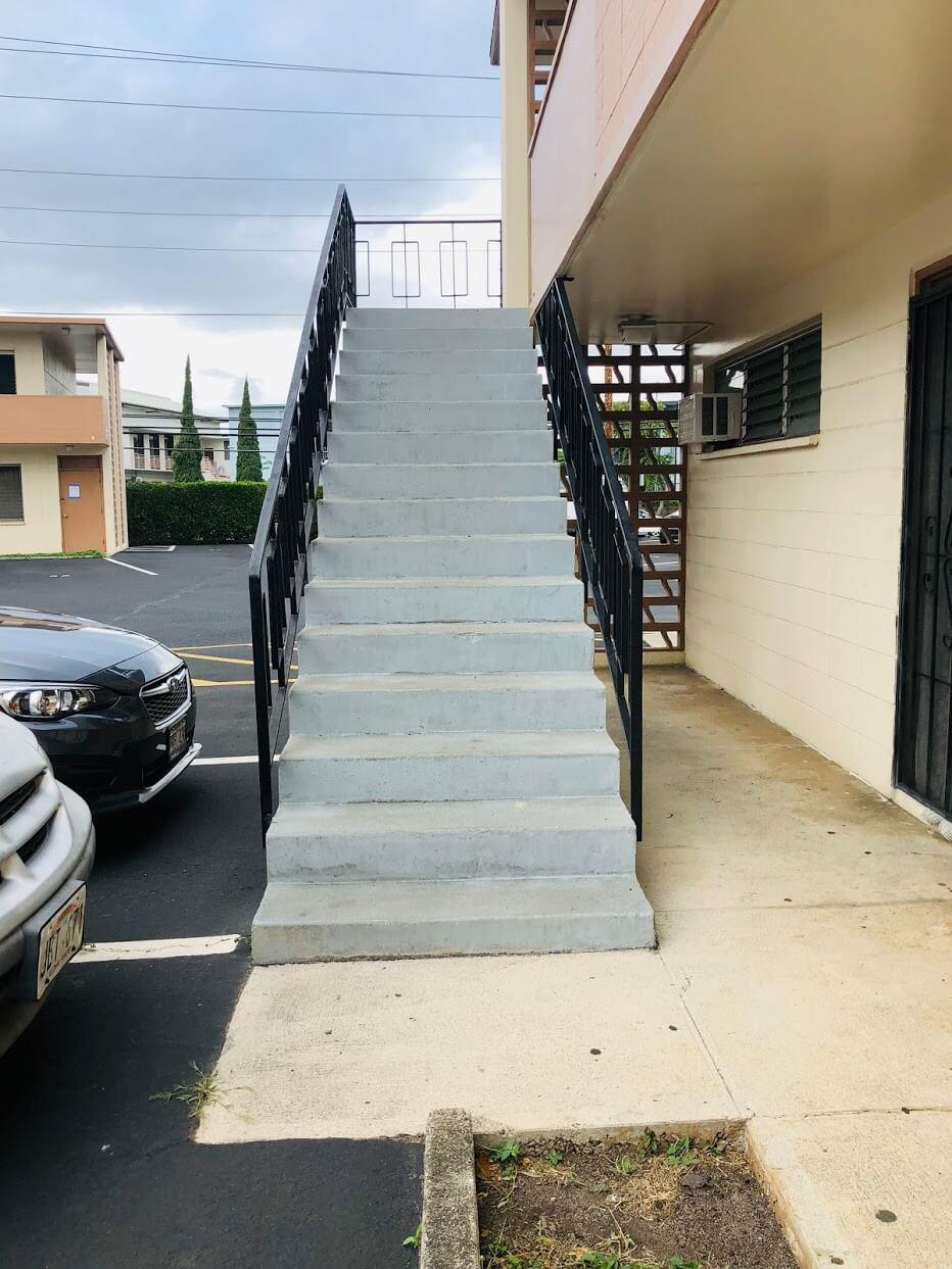Kuilei Gardensの階段