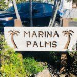 Marina Palmsの看板