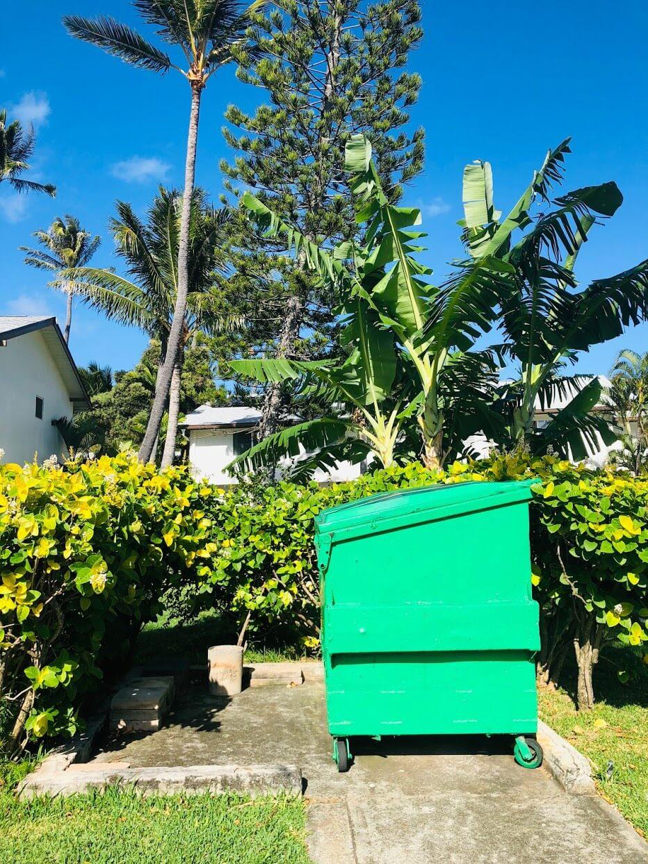 Marina Palmsのゴミ箱