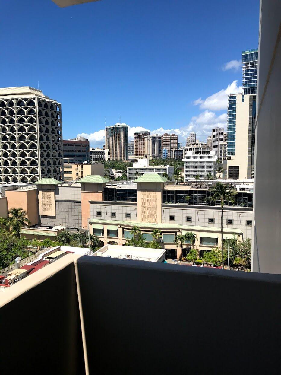 Marine Surf Waikikiの景観