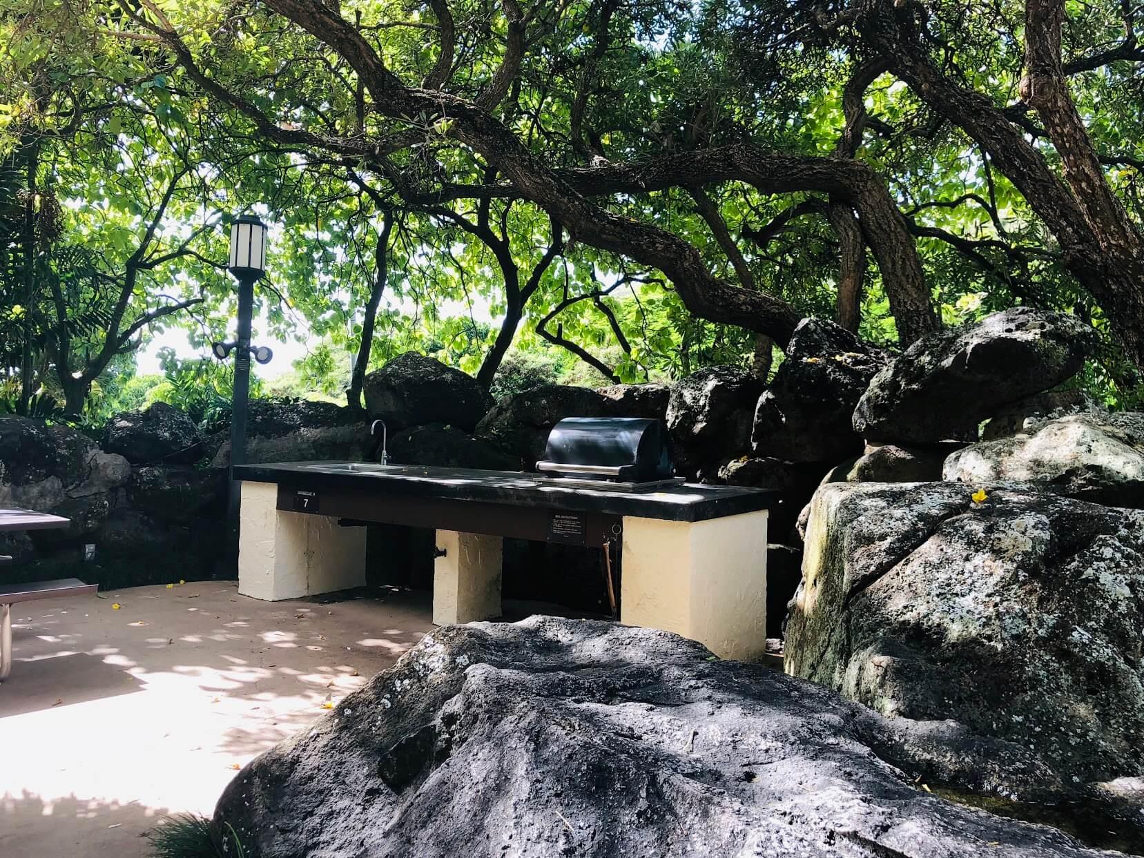 Mauna Luan 511のバーべーキューセット