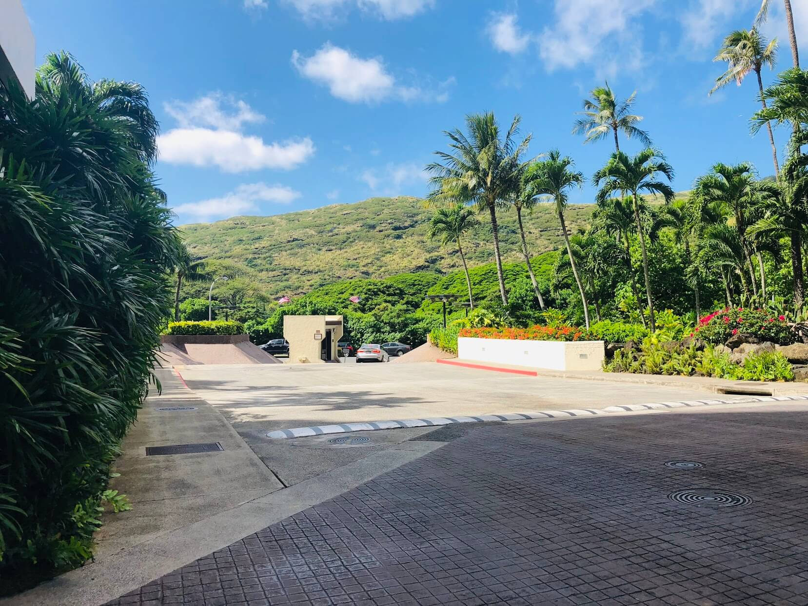 Mauna Luan 511の駐車場