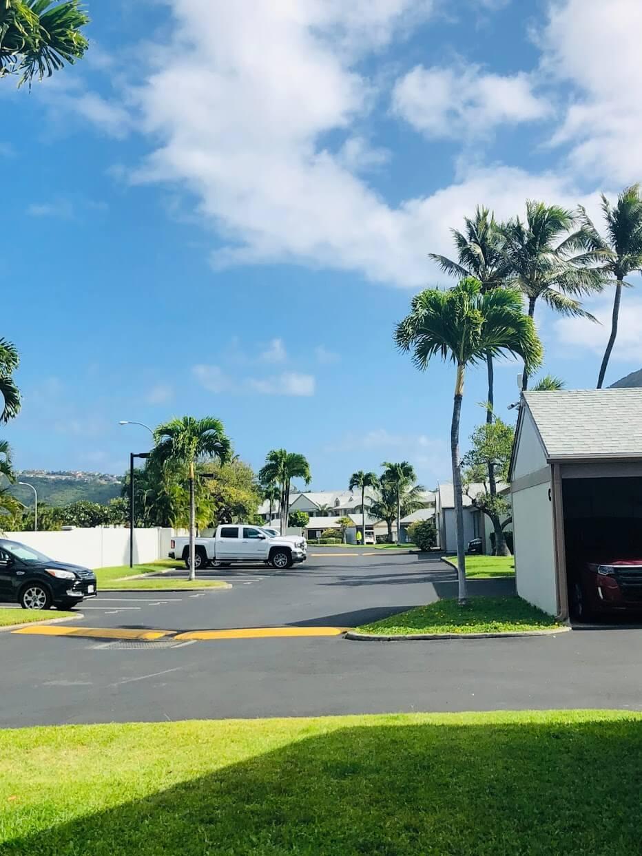 Mawaena Kaiの道路