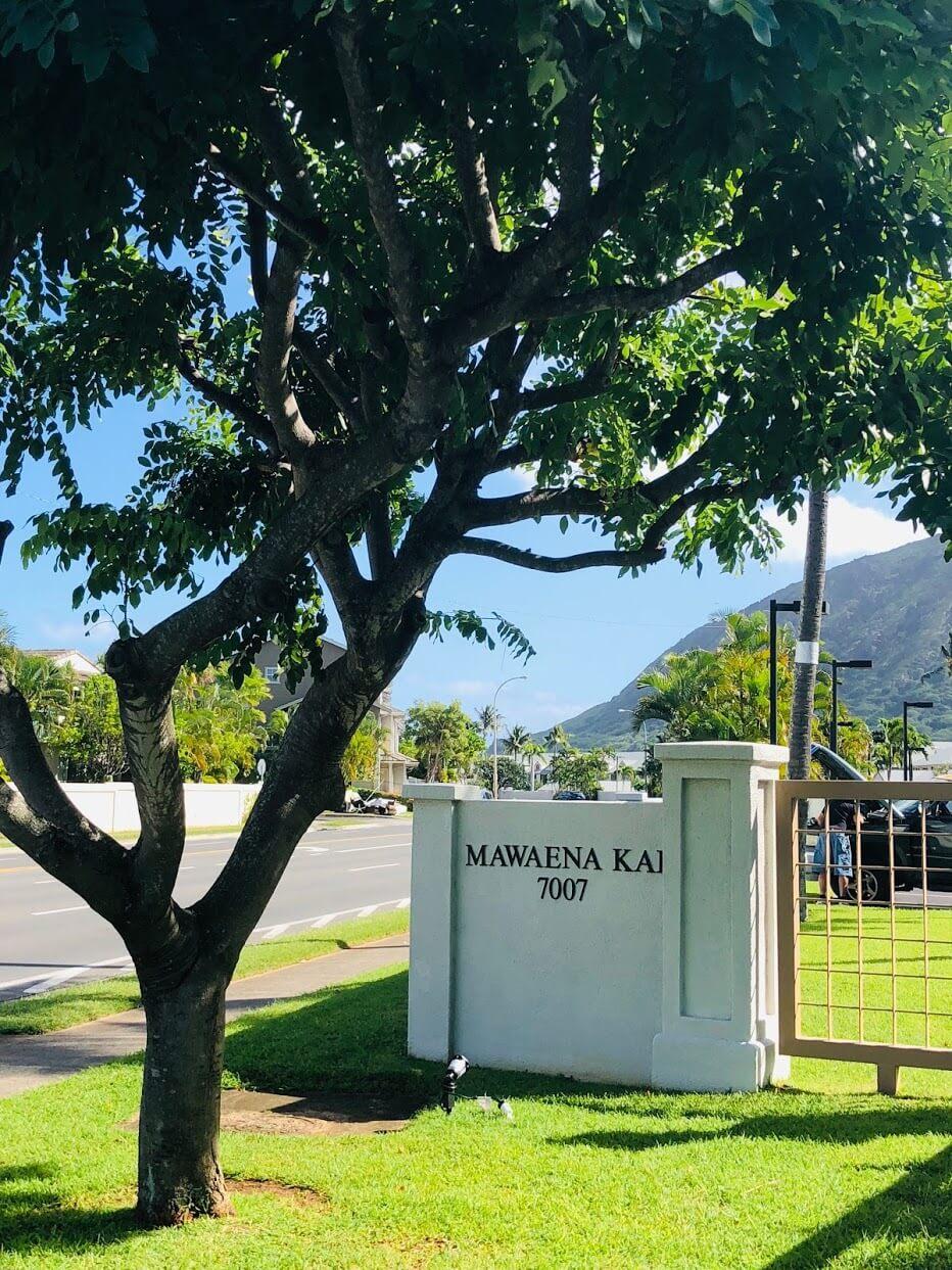 Mawaena Kaiのエントランス