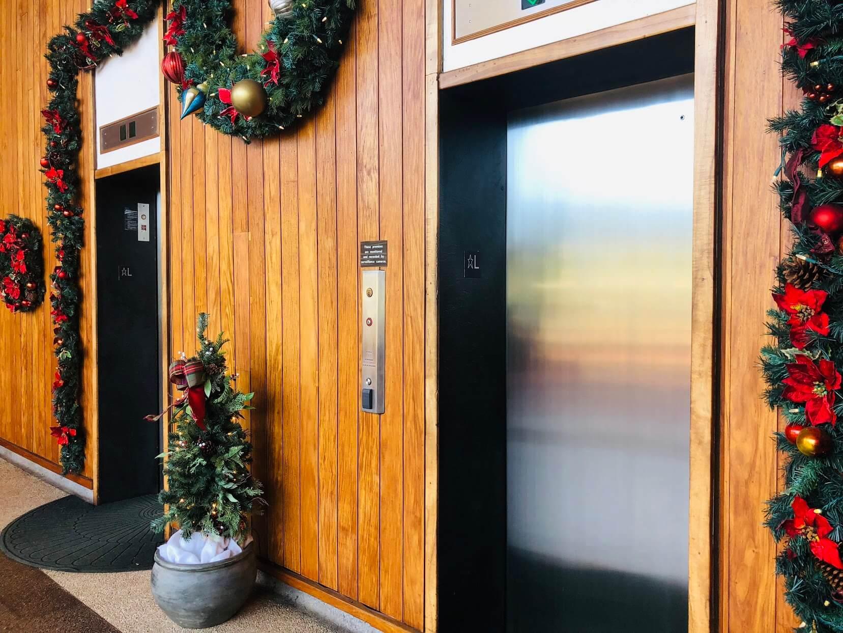 Mount Terraceのエレベーター