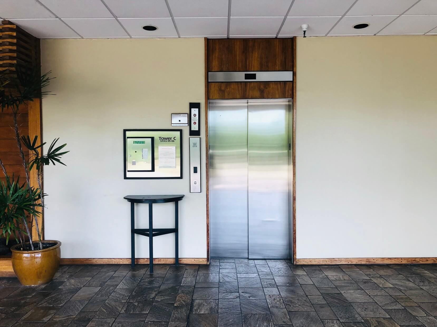 Naniwa Gardensのエレベーター