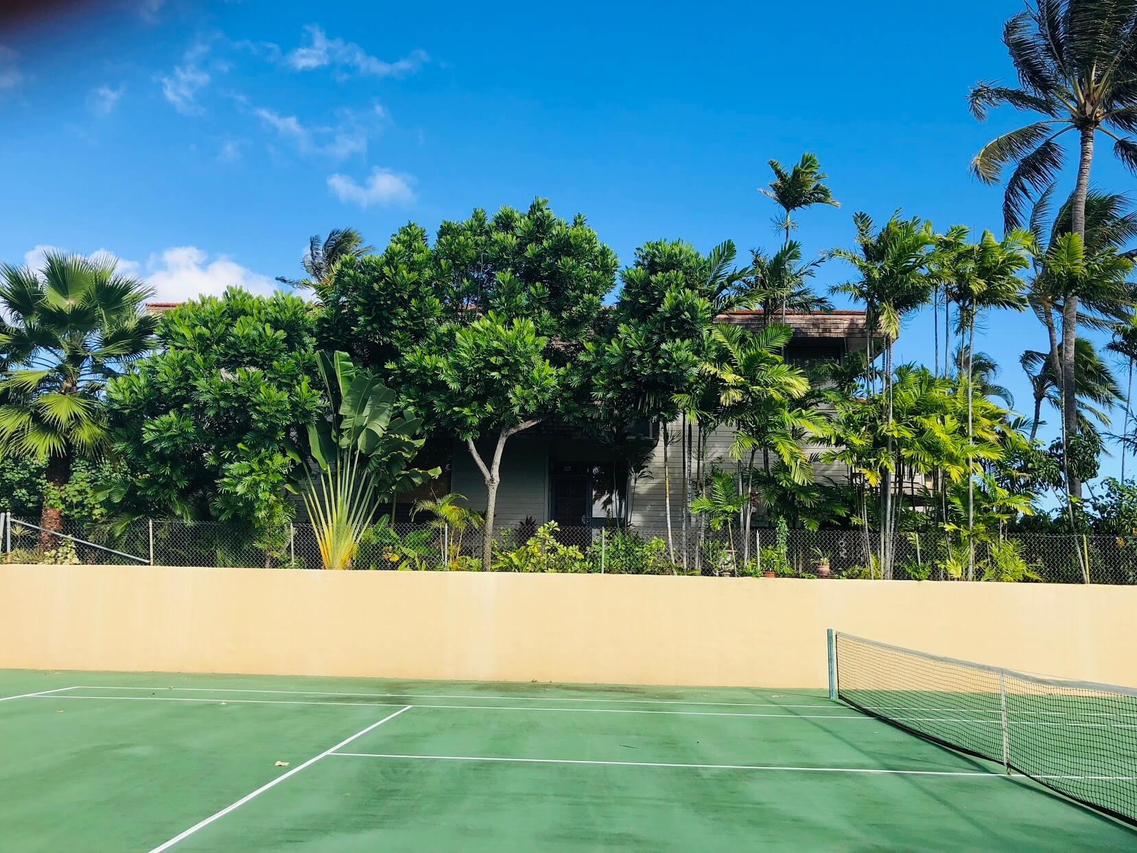 Napua Pointのテニス