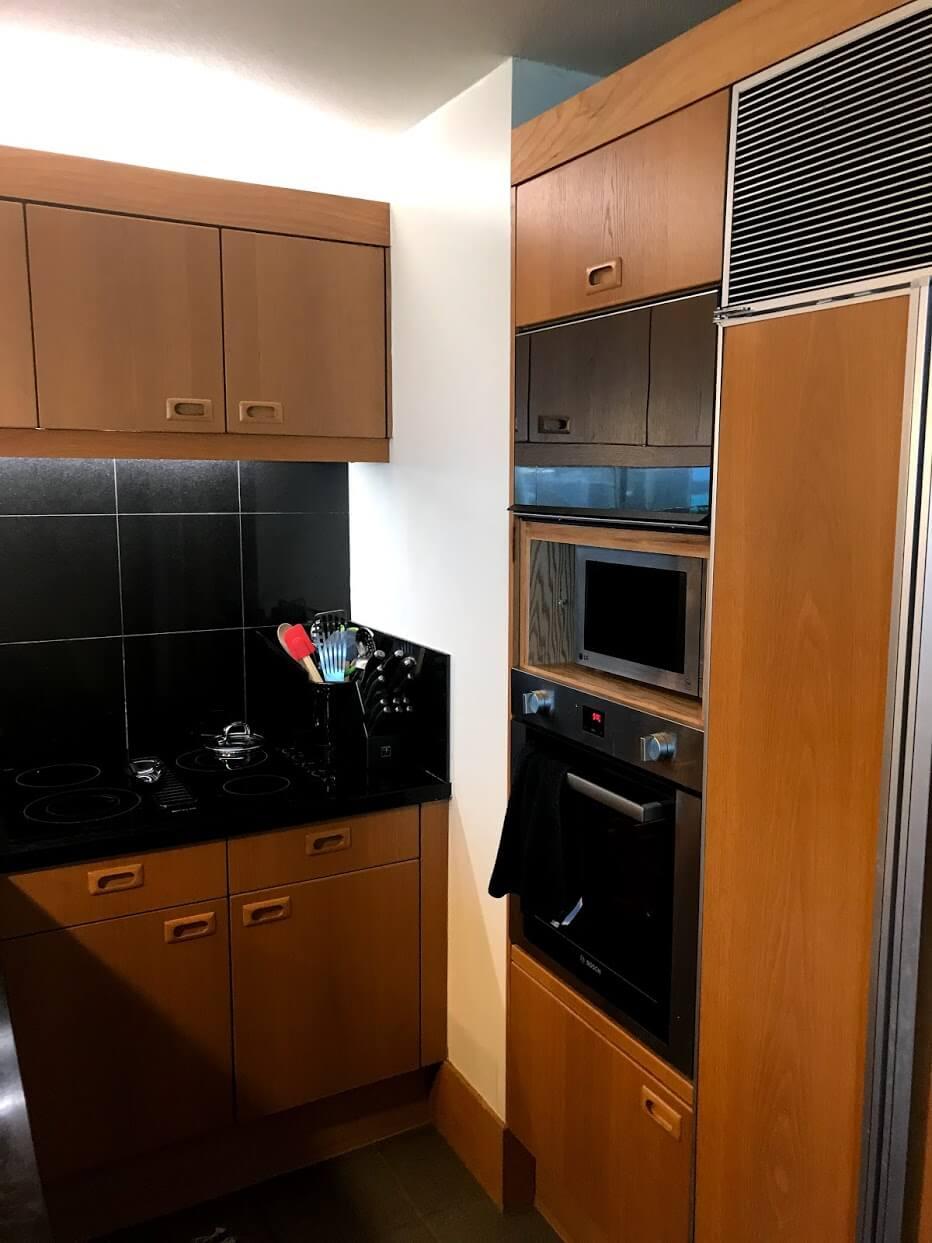 Nauru-Towerのキッチン