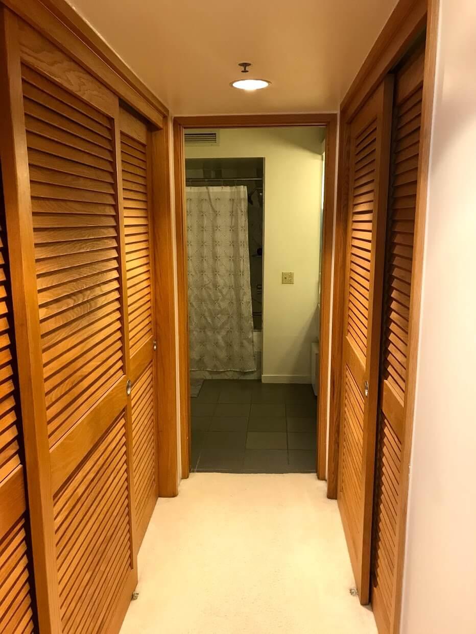 Nauru-Towerの廊下