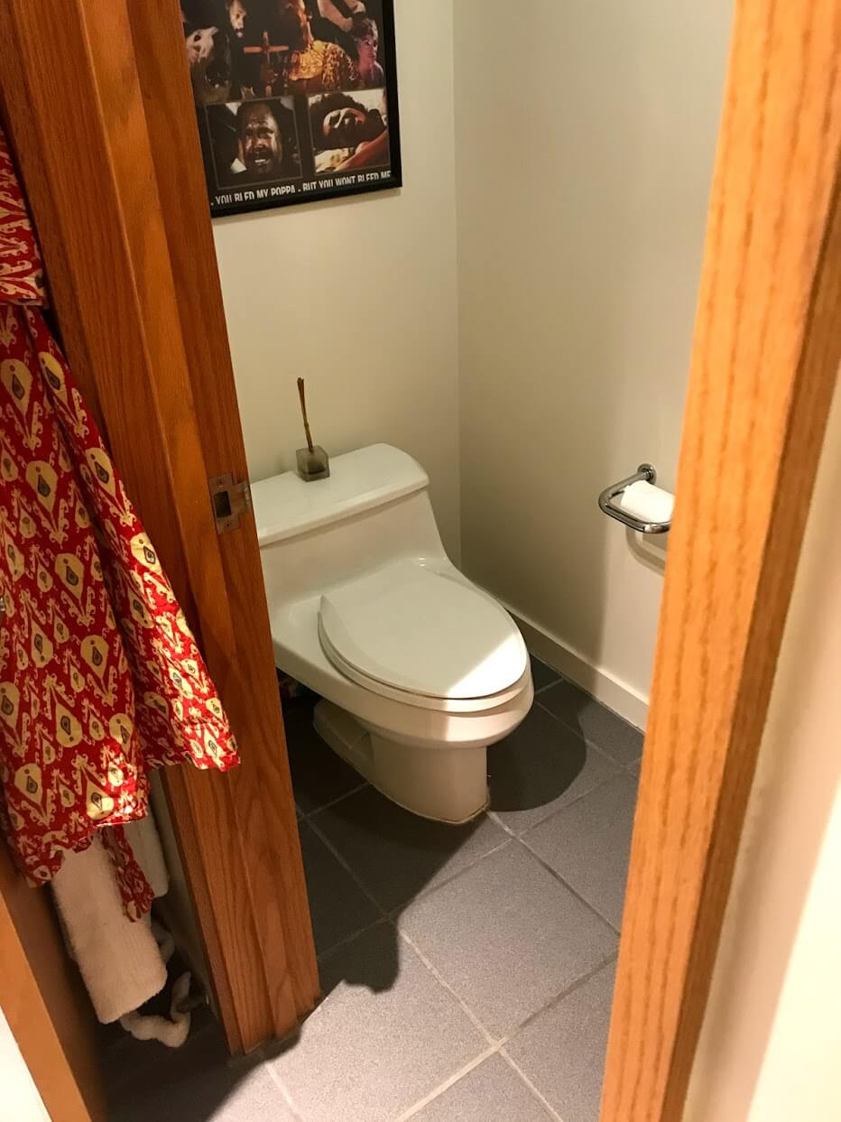 Nauru-Towerのトイレ