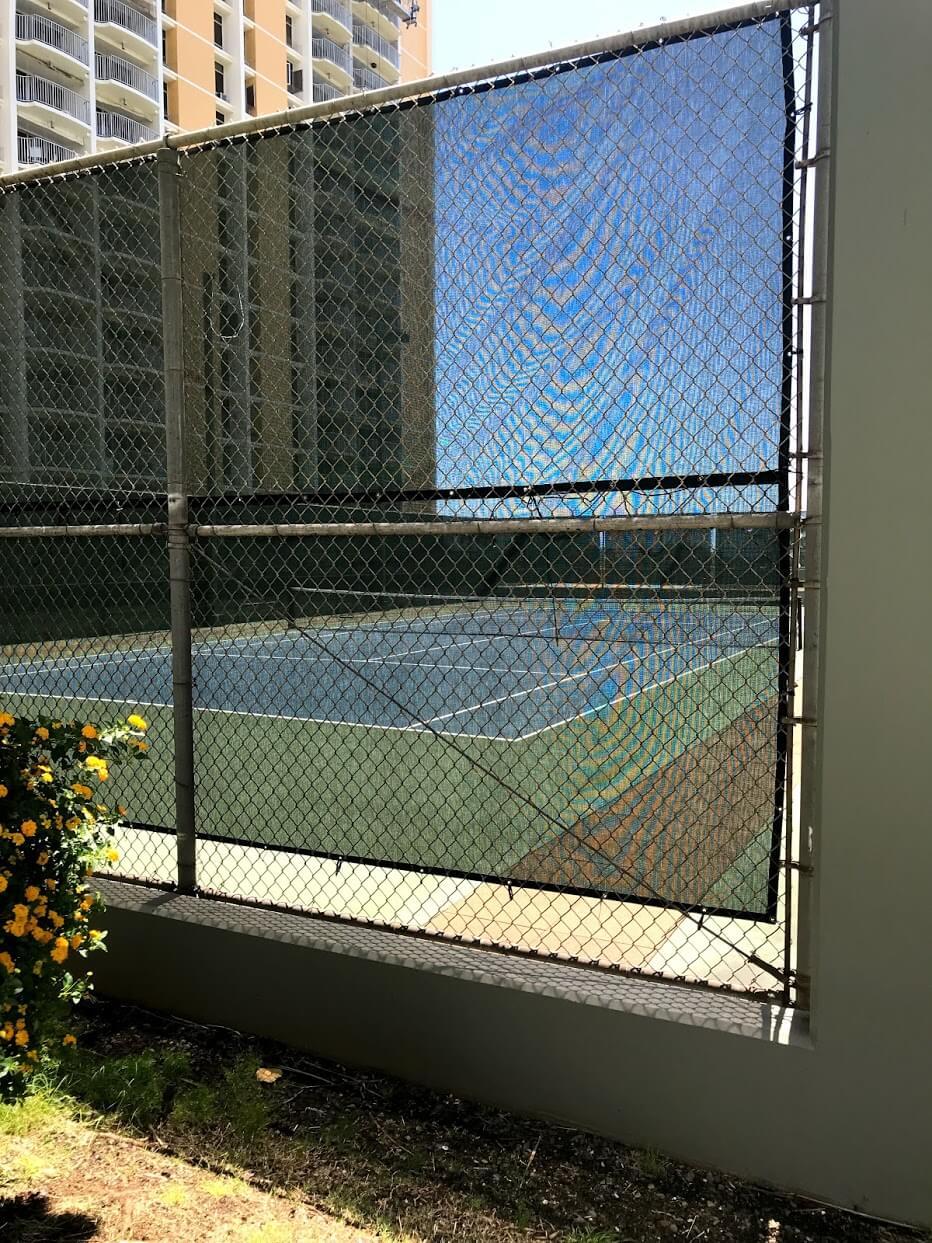 Nauru-Towerのテニスコート