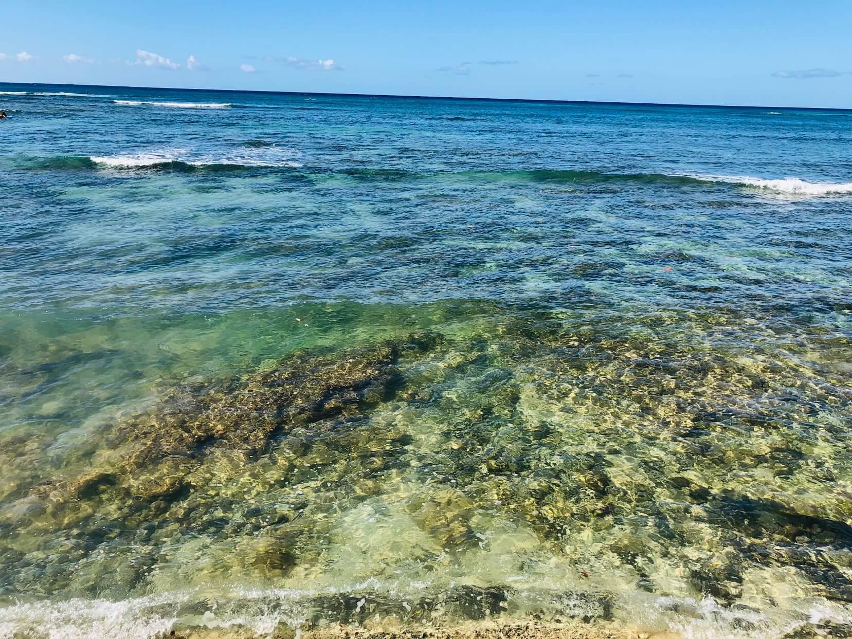 Oceanside Manorの海