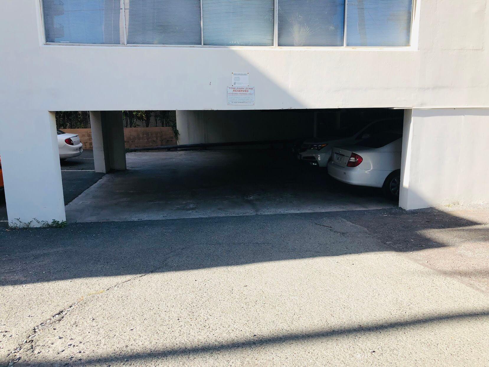 Ohualaniの駐車場
