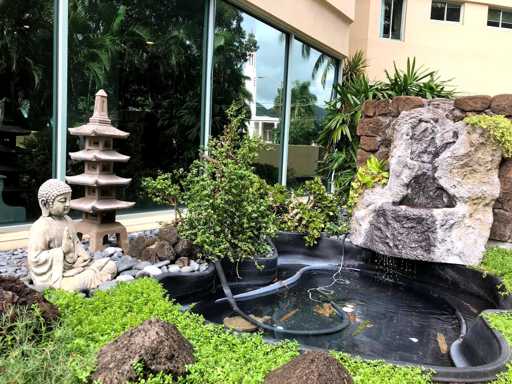 One Kalakauaの庭