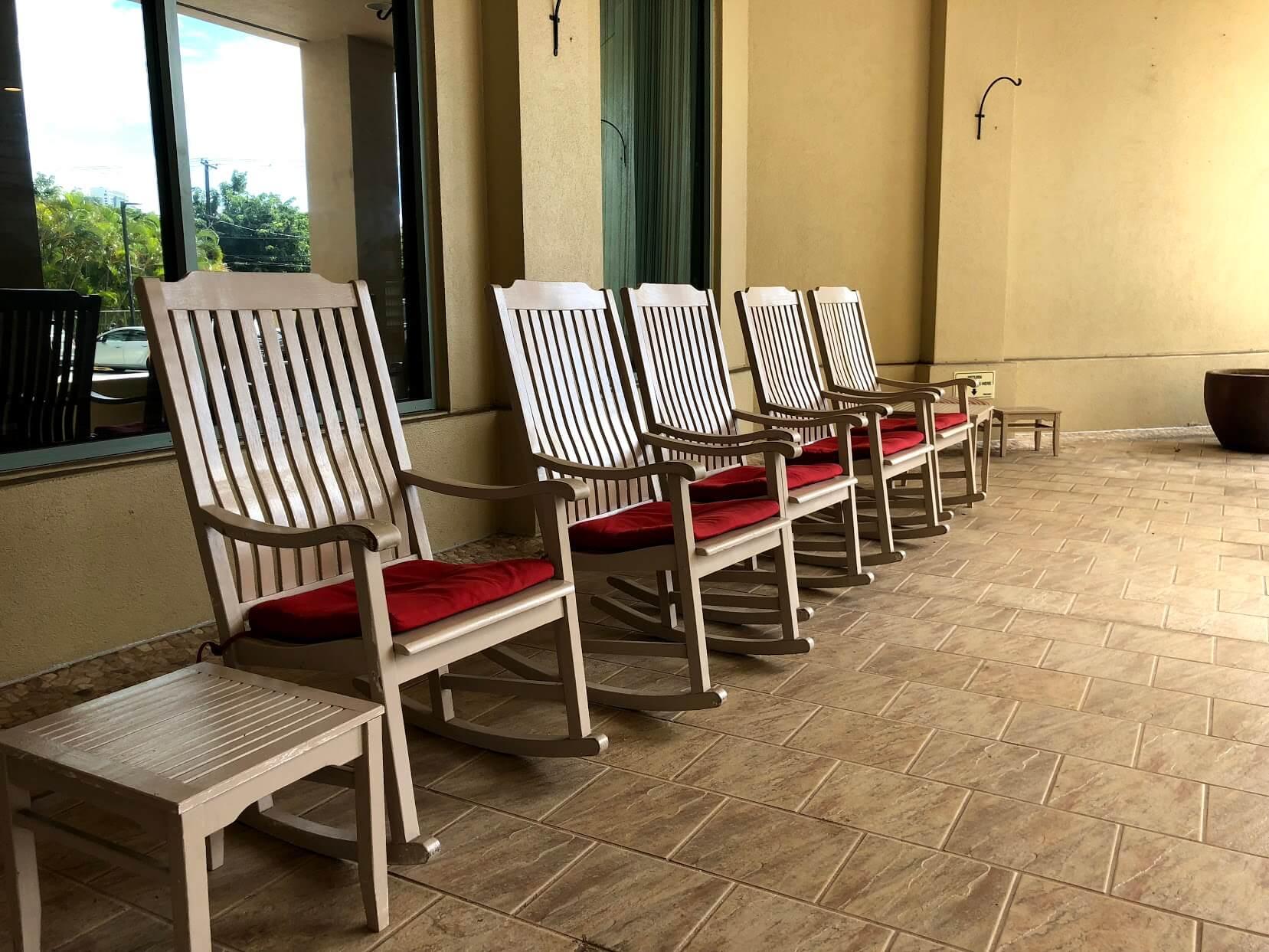 One Kalakauaの椅子